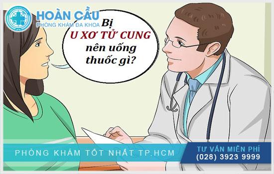Bị u xơ tử cung nên uống thuốc gì?