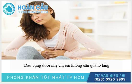 Uống thuốc tránh thai bị đau bụng dưới nhẹ, không cần quá lo lắng