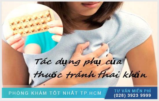 tác dụng phụ của thuốc tránh thai khẩn cấp