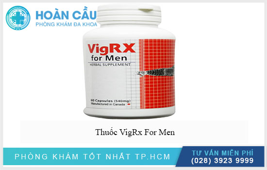 VigRx For Men là viên uống chiết xuất hoàn toàn bởi thảo dược