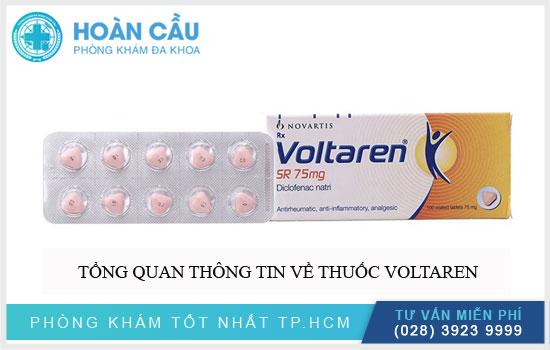 Tổng quan thông tin về thuốc Voltaren